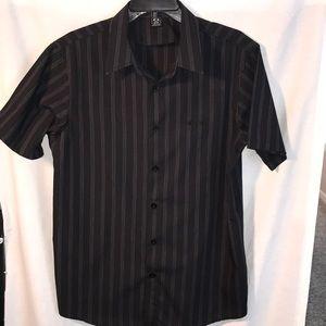 Oakley men's button down shirt size Med. black